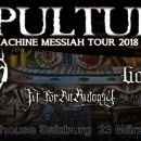 "Sepultura ""Machine Messiah Tour 2018"""