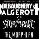 Debauchery / Stormrage / The Morphean