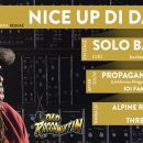 "Titel: CLUB I0I – NICE UP DI DANCE!  Mit Solo Banton (UK) – Album release ""Old Raggamuffin"" backed b"
