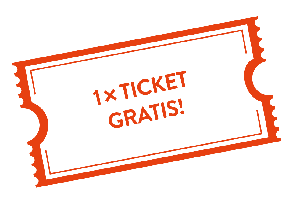 rockhouse Logo 1ticket gratis orange